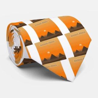 Pyramid Aliens Tie