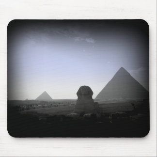 Pyramid and Sphinx Mousepad