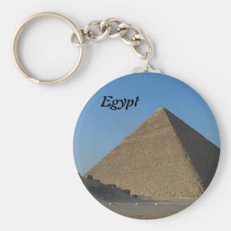 Pyramid at Giza, Egypt Keychain