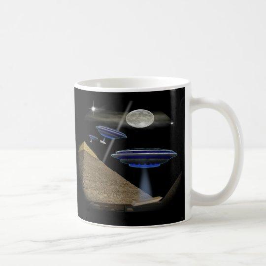 pyramid builders coffee mug