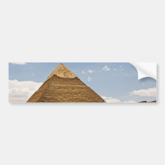 Pyramid Bumper Sticker