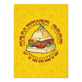 Pyramid Burger Card