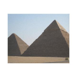 """Pyramid"" Canvas"