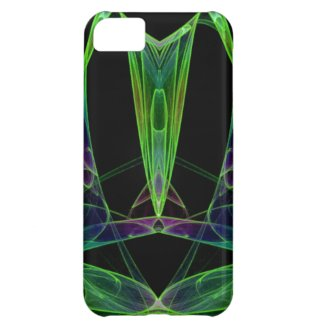 Pyramid Chaos Flame Fractal iPhone 5C Cover