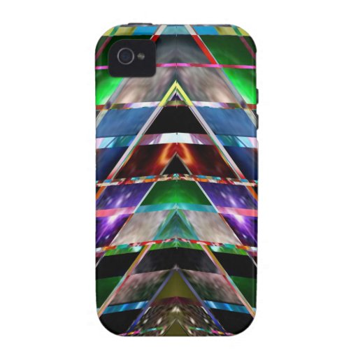 PYRAMID  - Enjoy Healing Energy Spectrum Case For The iPhone 4