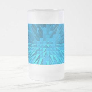 PYRAMID GLASS COFFEE MUGS