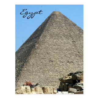 pyramid great egypt post card