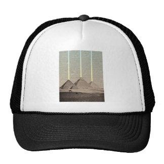Pyramid Hieroglyph Spotlights Trucker Hat