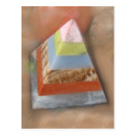 Pyramid in Clouds Postcards