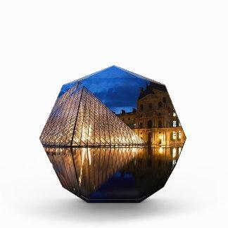Pyramid in Louvre Museum,Paris,France Acrylic Award