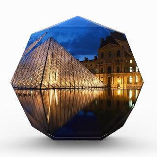 Pyramid in Louvre Museum Paris France Award