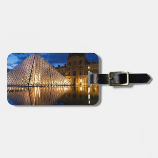 Pyramid in Louvre Museum,Paris,France Bag Tag