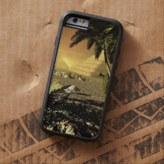 Pyramid in the sunet, fantasy landscape tough xtreme iPhone 6 case