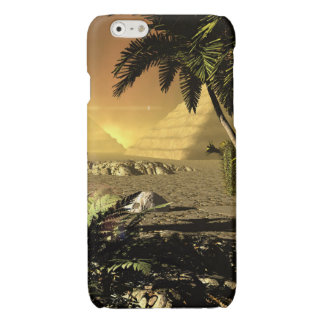 Pyramid in the sunet glossy iPhone 6 case