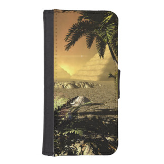 Pyramid in the sunet iPhone 5 wallets