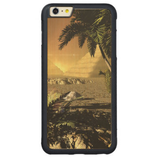 Pyramid in the sunet carved® maple iPhone 6 plus bumper