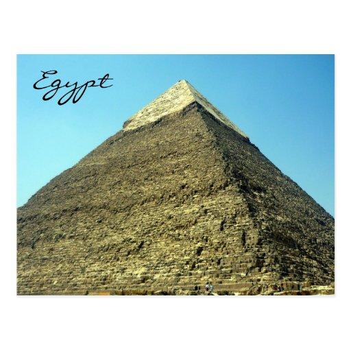 pyramid khafre postcard