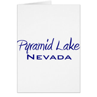 Pyramid Lake Card