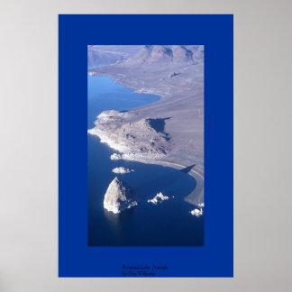 Pyramid Lake, Nevada Poster