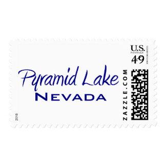 Pyramid Lake Postage Stamp