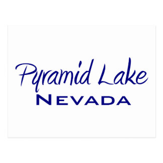 Pyramid Lake Postcard