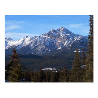 Pyramid Mountain, Jasper Alberta Post Card