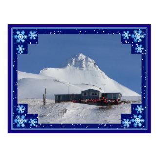 Pyramid Mountain Season's Greeting Postcard