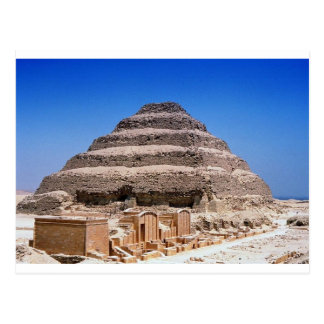 Pyramid of Djoser Postcard