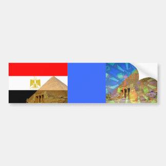 Pyramid of Egyptian_ Bumper Sticker