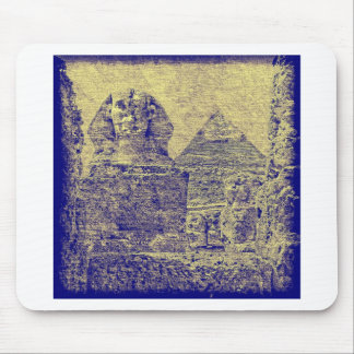 Pyramid of Khafre and the Great Sphinx Mousepad