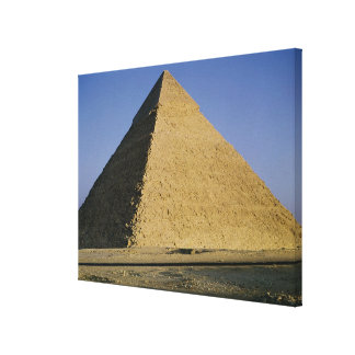 Pyramid of Khafre  c.2589-30 BC Canvas Print