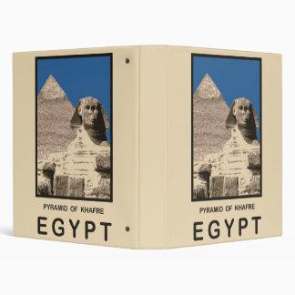 Pyramid of Khafre Egypt Binder