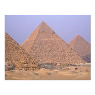 Pyramid of Menkaure Mycerinus), Pyramid of Postcard