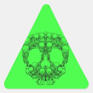 Pyramid of Skulls - Mini Skeletons Sticker