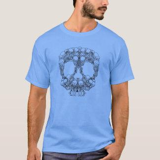 Pyramid of Skulls - Mini Skeletons T-Shirt