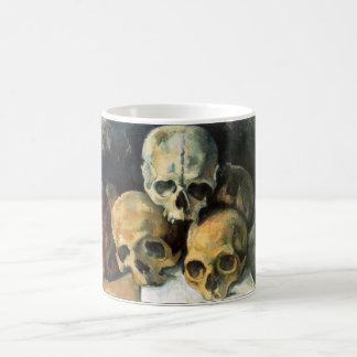 Pyramid of Skulls Paul Cezanne Coffee Mug
