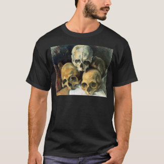 Pyramid of Skulls Paul Cezanne T-Shirt