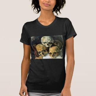 Pyramid of Skulls Paul Cezanne Tshirts