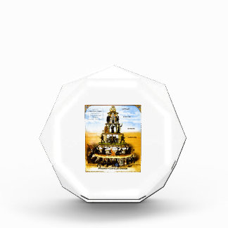 Pyramid Of The Capitalist System (Anti-Capitalism) Acrylic Award