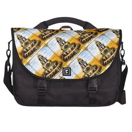 Pyramid Of The Capitalist System (Anti-Capitalism) Commuter Bag
