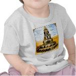 Pyramid Of The Capitalist System (Anti-Capitalism) T Shirts