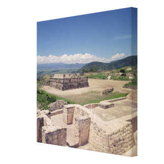Pyramid of the Feathered Serpent Canvas Print