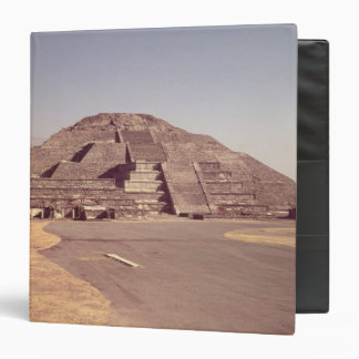 Pyramid of the Moon, built c.100-350 AD 3 Ring Binder