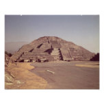Pyramid of the Moon, built c.100-350 AD Poster