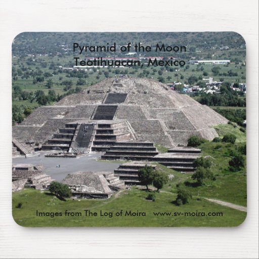 Pyramid of the Moon, Teotihuacan, Mexico Mousepads