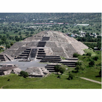 Pyramid of the Moon, Teotihuacan, Mexico Statuette