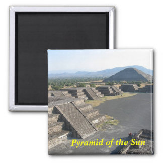 Pyramid of the Sun magnet