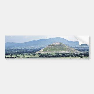 Pyramid Of The Sun Teotihuacan Complex Bumper Sticker