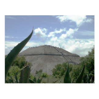 Pyramid of the Sun, Teotihuacan, Mexico Postcard