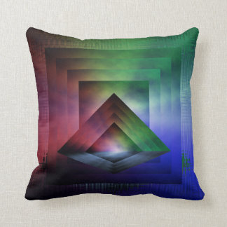Pyramid Prism Pillow